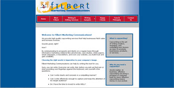 website for Filbert Communications | Los Angeles | http://www.tapsolutions.net