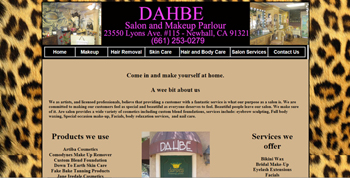 Salon and Makeup Parlor Temecula, Website Designed, ReDesigned & Maintained Salon and Makeup Parlor Temecula    Website Design Temecula, Temecula Website Design , http://www.tapsolutions.net | (818) 281-7628 | Temecula Website Development and Designed