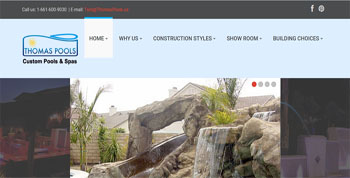 Swimming Pool and Spa Contractor Baldwin Park, Website Designed, ReDesigned & Maintained Swimming Pool and Spa Contractor Baldwin Park  http://thomaspools.us  Website Design Baldwin Park, Baldwin Park Website Design , http://www.tapsolutions.net | (818) 281-7628 | Baldwin Park Website Development and Designed